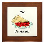 Pie Junkie Framed Tile