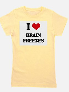 brain freezes Girl's Tee