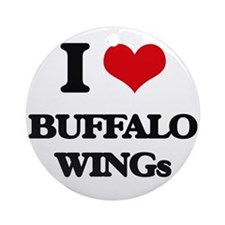 buffalo wings Ornament (Round)