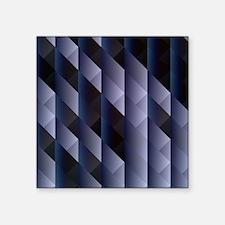 Geometric blue gray Sticker
