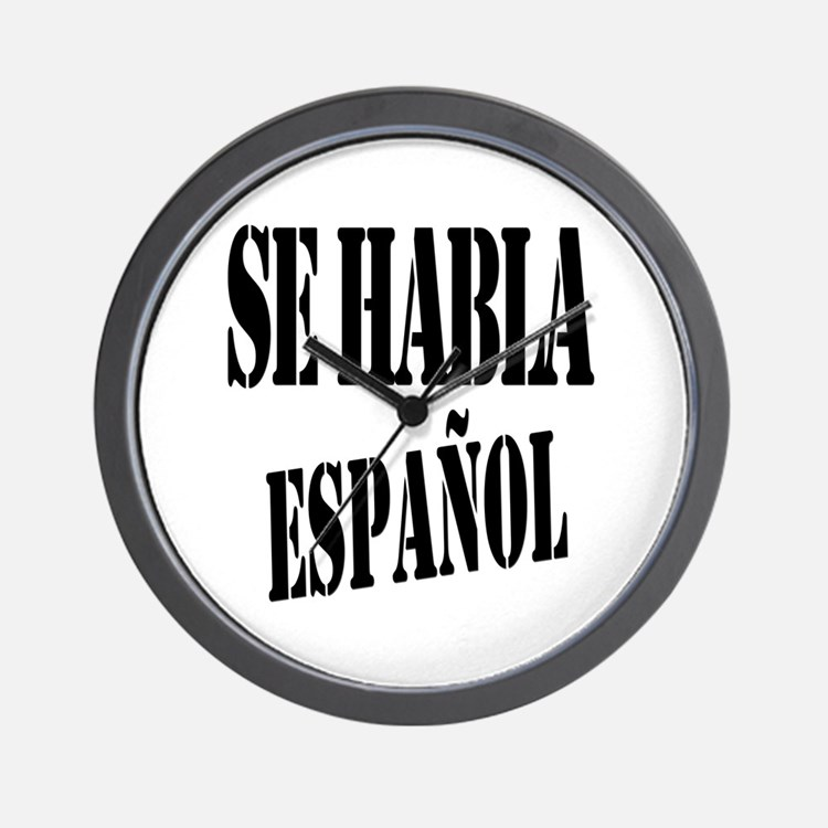 Se habla español Wall Clock
