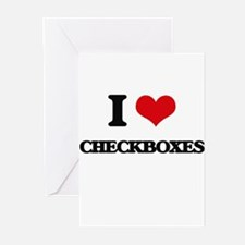 checkboxes Greeting Cards