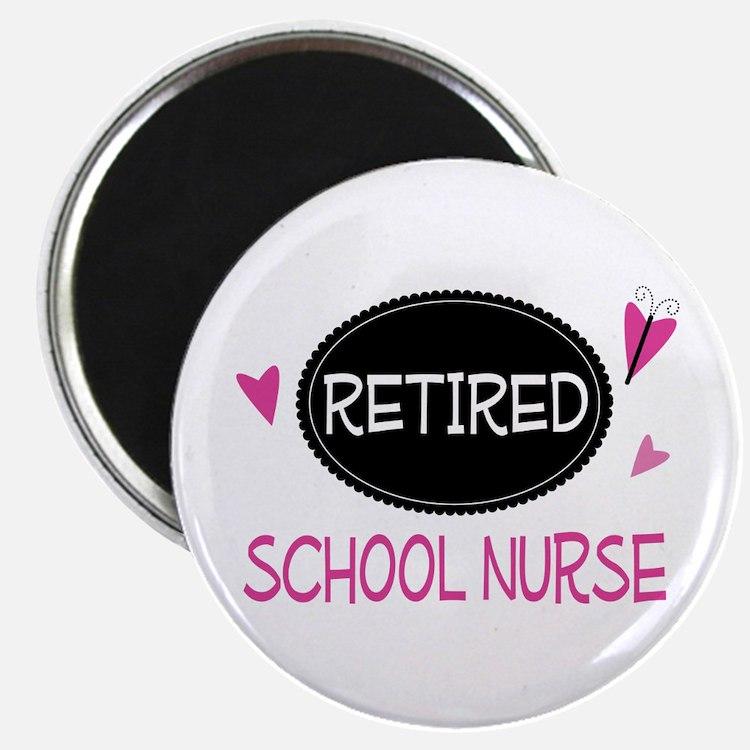Retired School Nurse Magnet