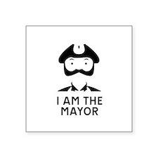 I am the Mayor of Trumpton Sticker