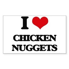 chicken nuggets Decal