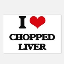 chopped liver Postcards (Package of 8)