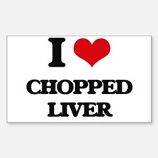 chopped liver Decal