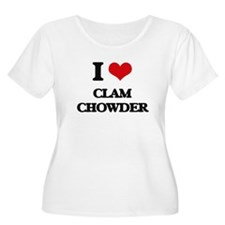 clam chowder Plus Size T-Shirt