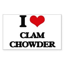 clam chowder Decal