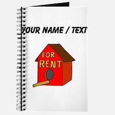 Custom Birdhouse For Rent Journal