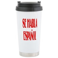 Se habla espanol Travel Mug