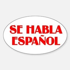 Se habla espanol Decal
