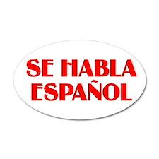 Se habla espanol Wall Decal