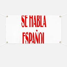 Se habla espanol Banner