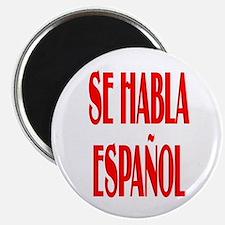 Se habla espanol Magnet
