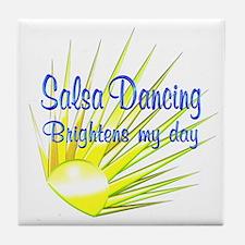 Salsa Brightens Tile Coaster