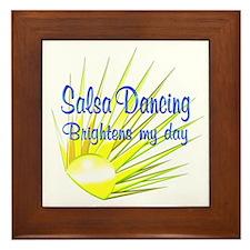 Salsa Brightens Framed Tile