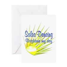Salsa Brightens Greeting Card