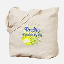 Reading Brightens Tote Bag