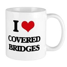 covered bridges Mugs