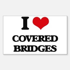 covered bridges Decal
