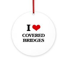 covered bridges Ornament (Round)