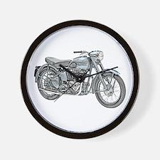 Motorcycle Wall Clock