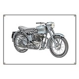 Triumph motorcycle Banners