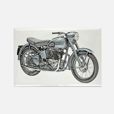 Motorcycle Rectangle Magnet
