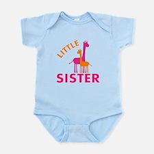 Little Sister Giraffes Body Suit