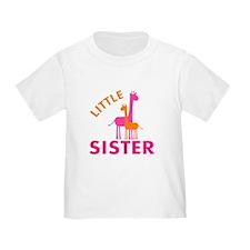 Little Sister Giraffes T-Shirt