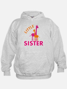 Little Sister Giraffes Hoodie