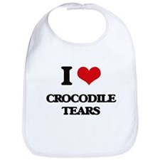 crocodile tears Bib
