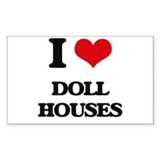doll houses Decal