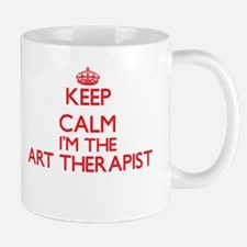 Keep calm I'm the Art Therapist Mugs