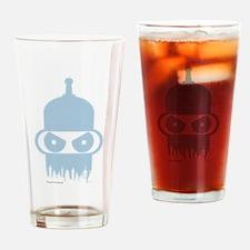 Futurama Bender City Drinking Glass