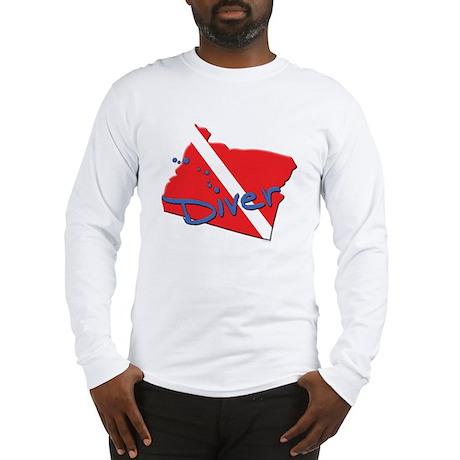 SCUBA States: Oregon Long Sleeve T-Shirt