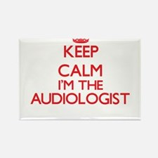 Keep calm I'm the Audiologist Magnets