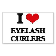 eyelash curlers Decal