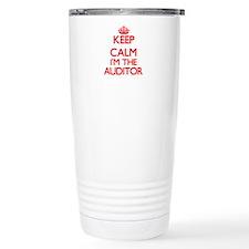 Keep calm I'm the Audit Travel Mug