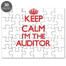 Keep calm I'm the Auditor Puzzle
