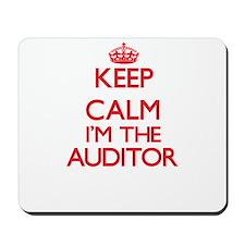 Keep calm I'm the Auditor Mousepad
