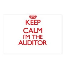 Keep calm I'm the Auditor Postcards (Package of 8)