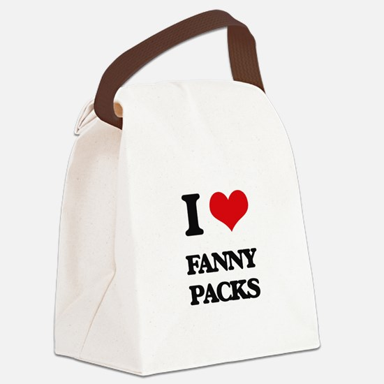 fanny packs Canvas Lunch Bag