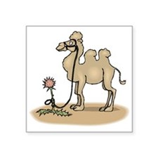 Camel Tied To Flower Sticker
