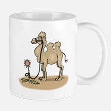 Camel Tied To Flower Mugs