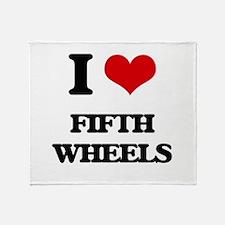 fifth wheels Throw Blanket