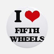 fifth wheels Ornament (Round)