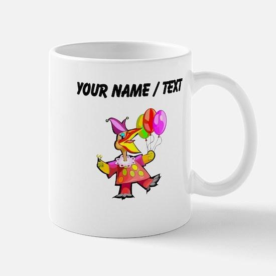 Custom Clown Bird Mugs