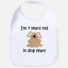 1 dog years 5 Bib